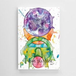 Premium Print Canvas size 24inch X 36inch - Pupose